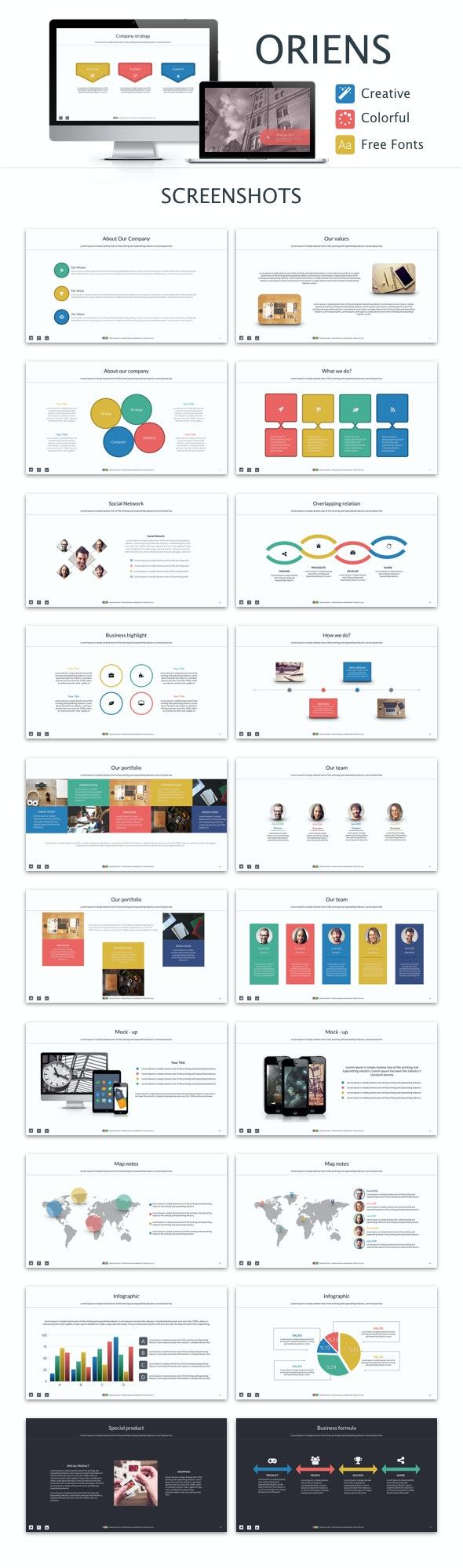 Oriens Powerpoint Template - PowerPoint Templates Presentation Templates