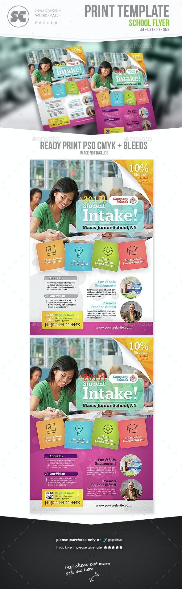 School Flyer - Miscellaneous Events