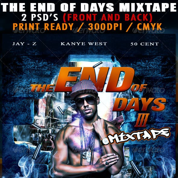 The End Of Days 3 Mixtape Cover