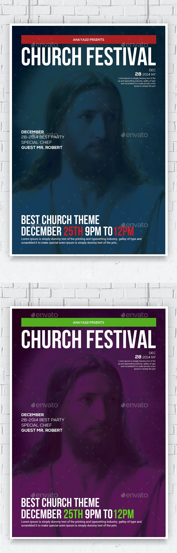 Revival Church Flyer - Church Flyers