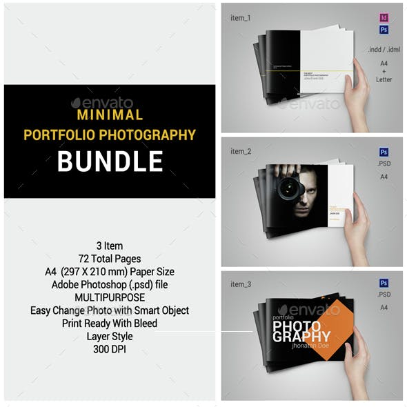 Minimal Portfolio Photography Bundle