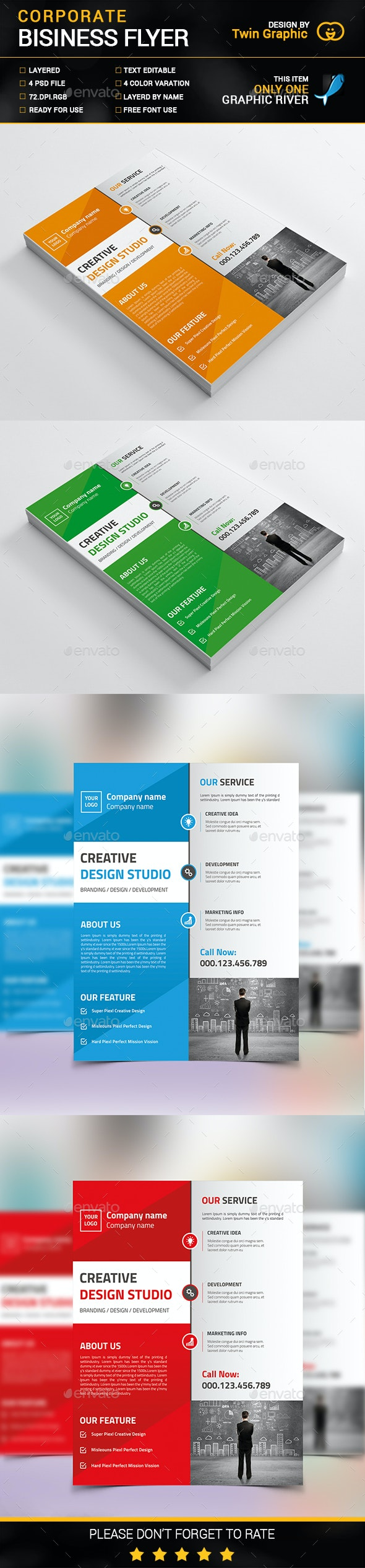Corporate Business Flyer Design - Corporate Flyers