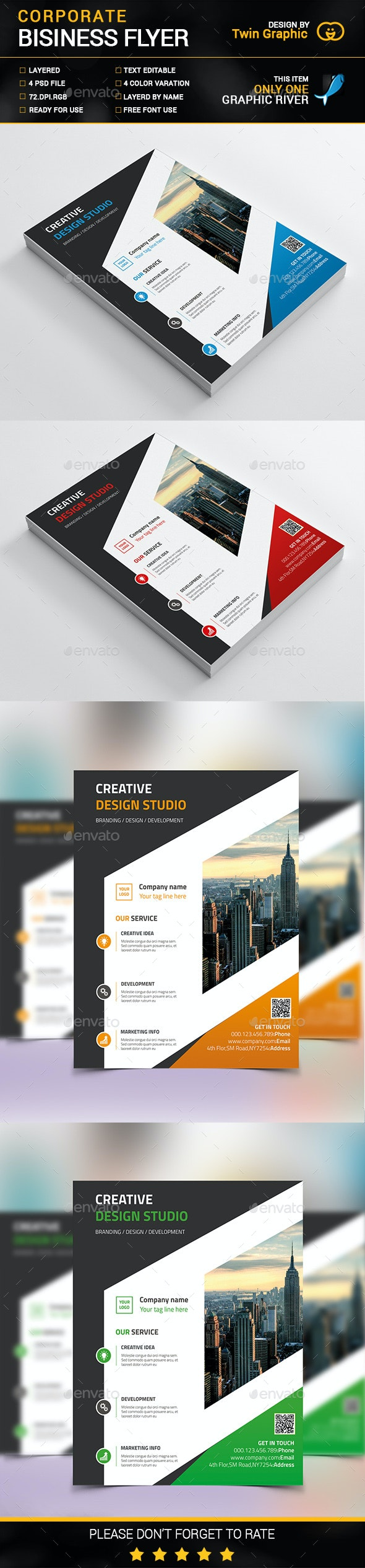 Corporate Business Flyer Design - Corporate Flyers