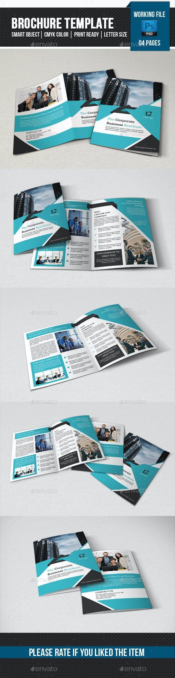 Corporate Bifold Brochure-V363 - Corporate Brochures