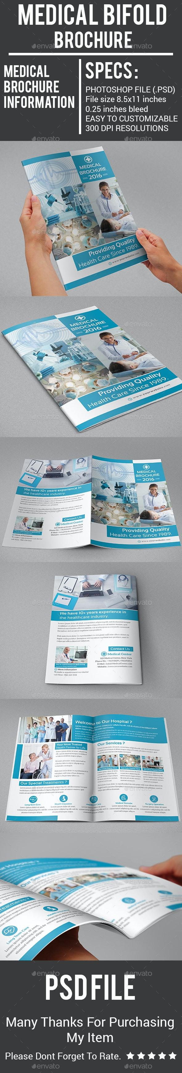 Medical Bifold Brochure - Corporate Brochures