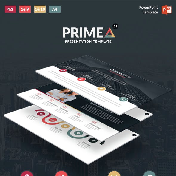 Primea - PowerPoint Presentation Template