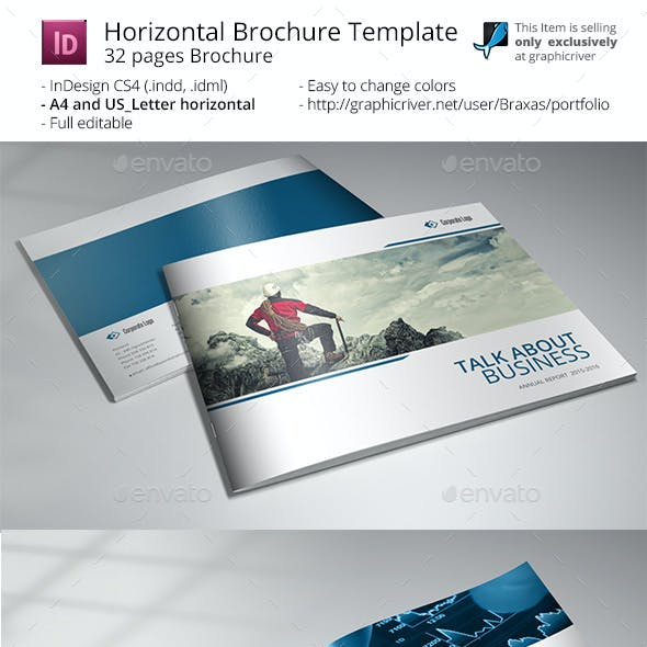 Business Brochure Printing Template