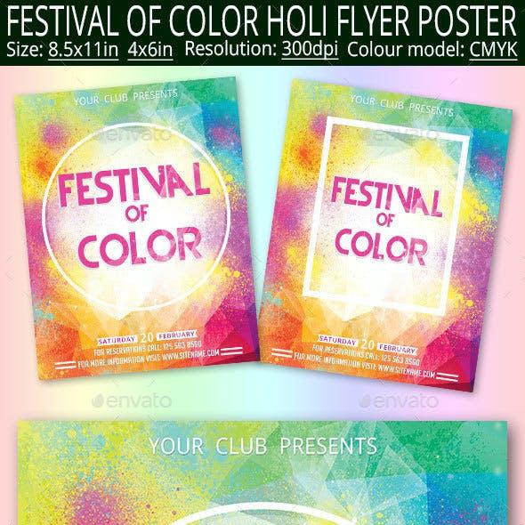 Color Festival Holi
