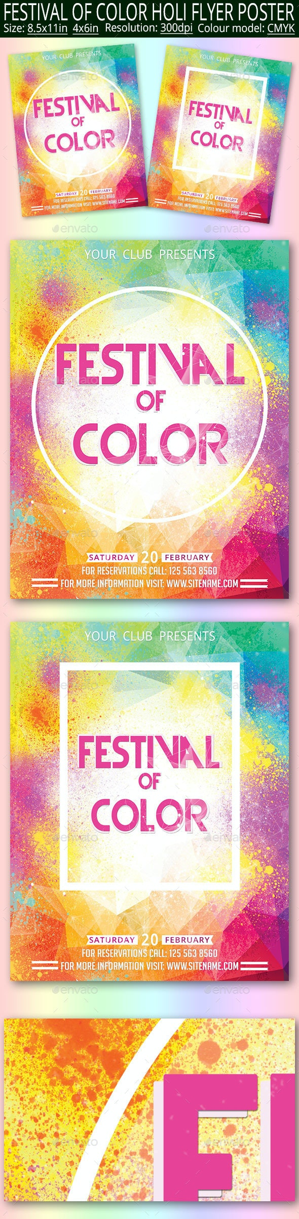 Color Festival Holi - Clubs & Parties Events