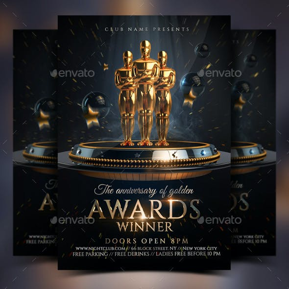 Golden Awards Flyer