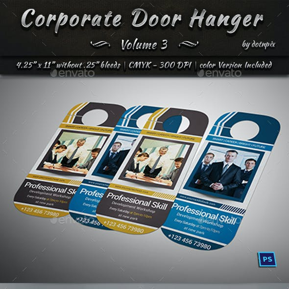 Corporate Door Hanger - V3