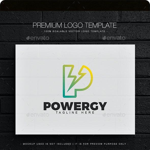 Powergy - Letter P Logo