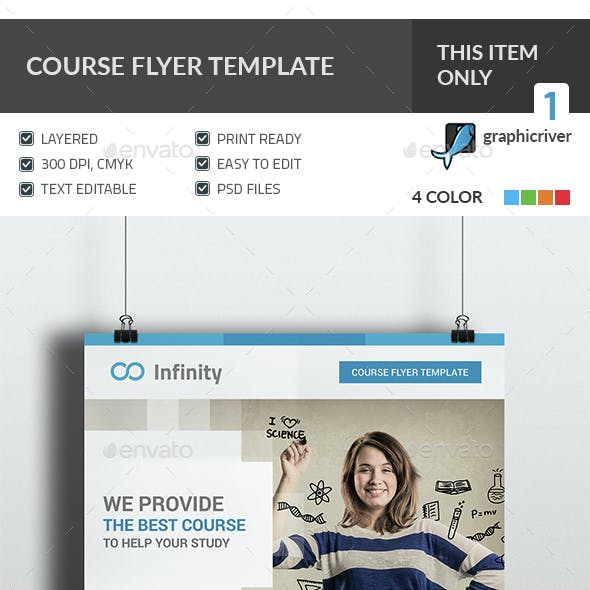 Course Flyer Template