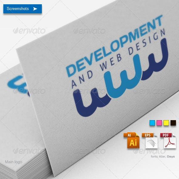 Development and Web Design Logo