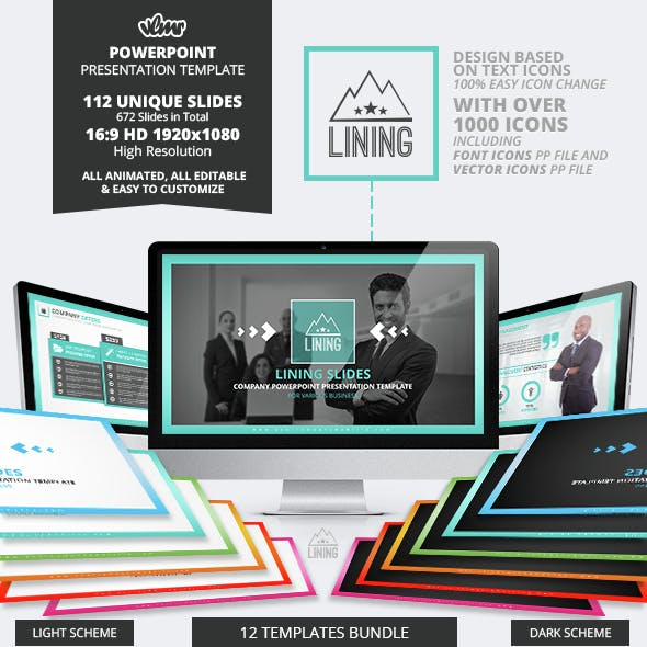 Lining Powerpoint Presentation Template