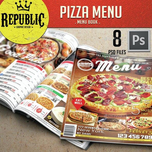 Restaurant Pizza Menu 1