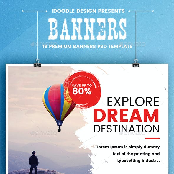 Travel Banners Ads