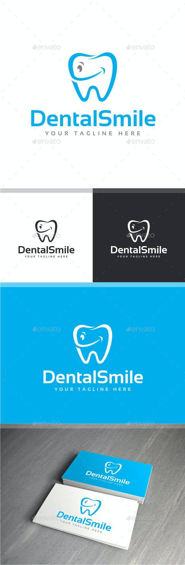Dental Smile - Objects Logo Templates