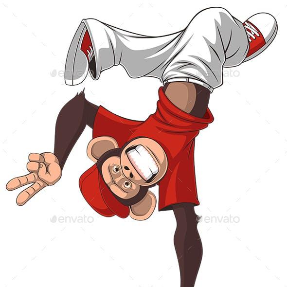 Funny Monkey Dance