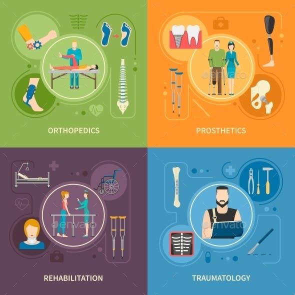 Traumatology Orthopedics 2X2 Flat Images