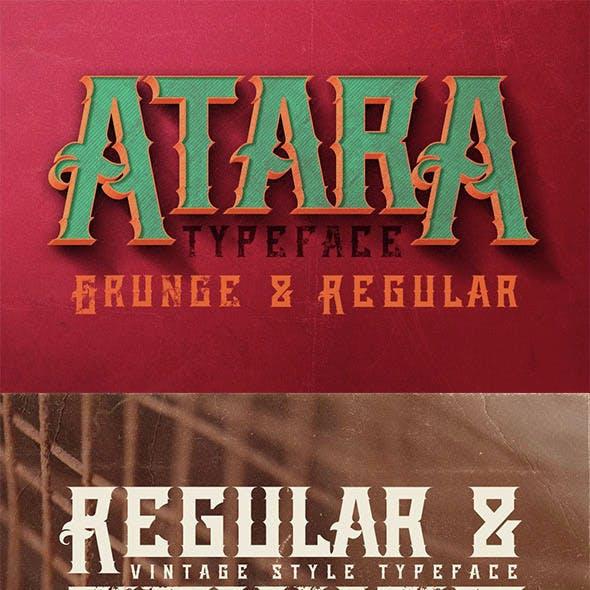 Atara - Vintage Style Font