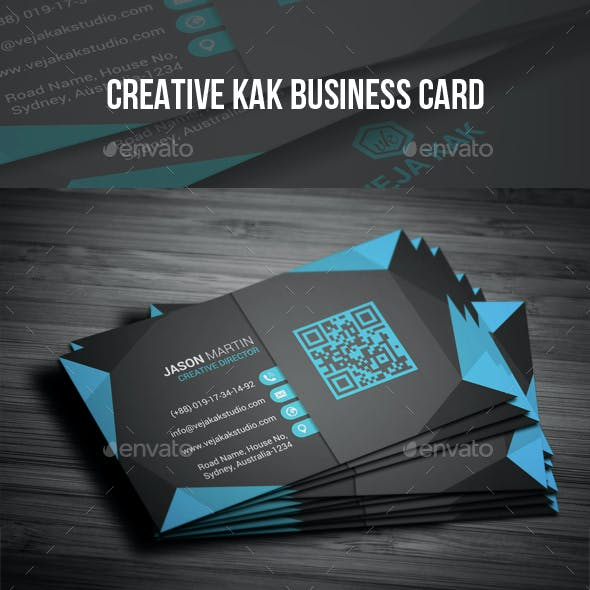 Creative Kak Business Card
