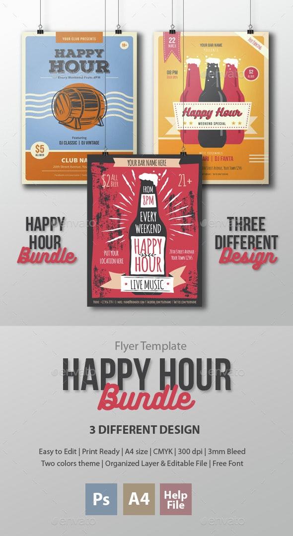 Happy Hour Bundle - Clubs & Parties Events