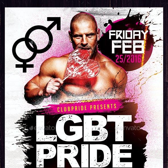 LGBT Pride Madness Flyer