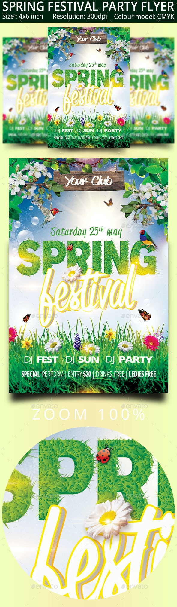 Spring - Clubs & Parties Events