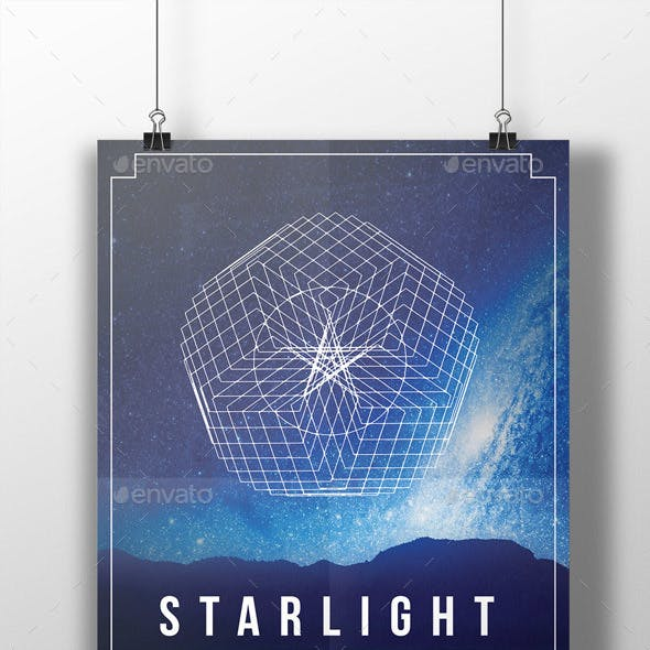 Geometric Event Flyer