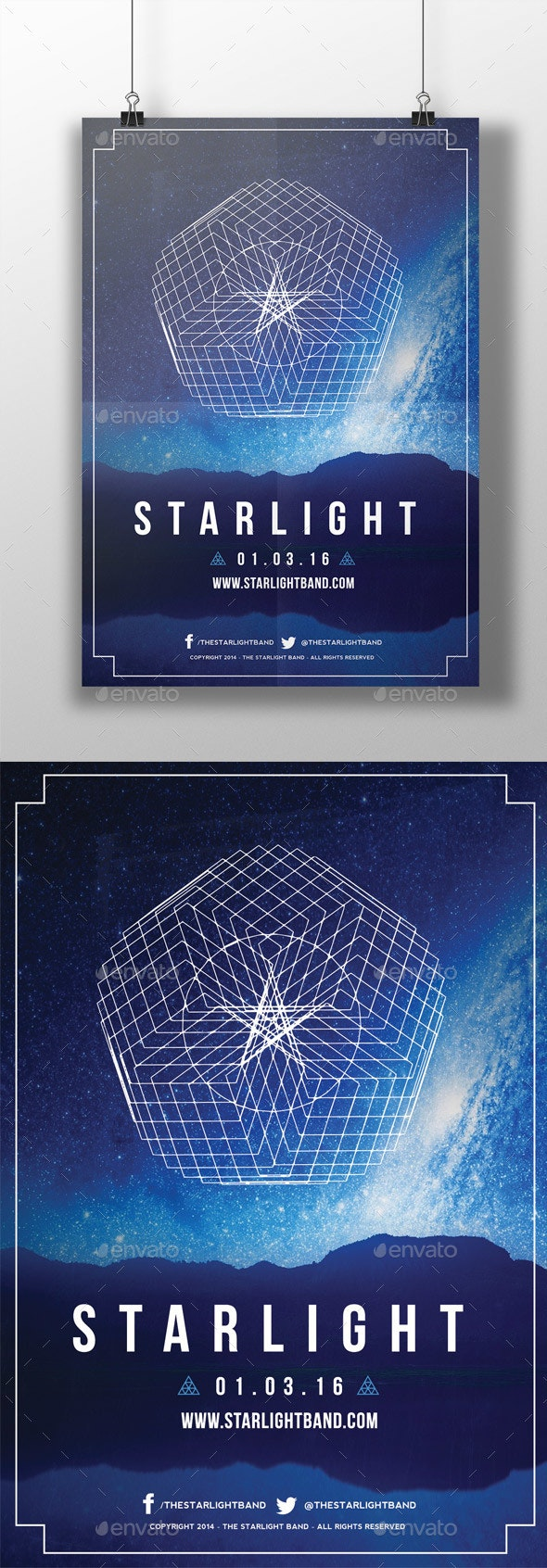Geometric Event Flyer - Events Flyers