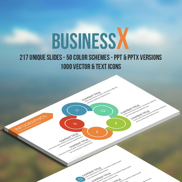Business X Powerpoint Template