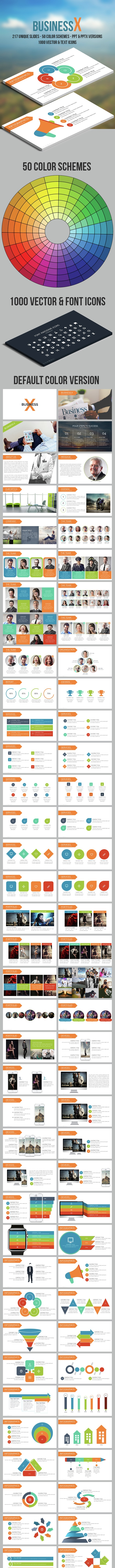 Business X Powerpoint Template - Business PowerPoint Templates