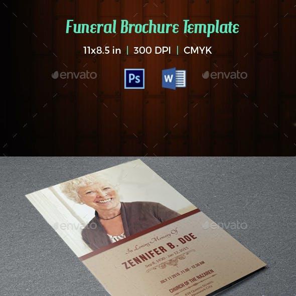Funeral Program Template-V13
