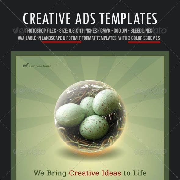 Creative Ads Templates