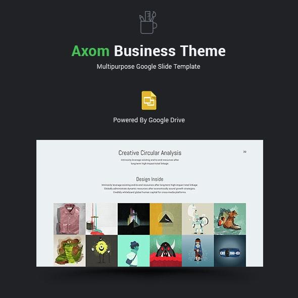 Axom Google Slide Theme - Google Slides Presentation Templates