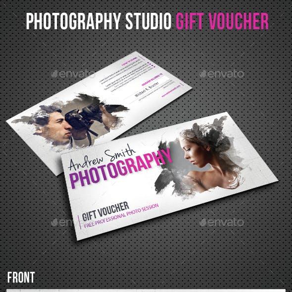 Photography Studio Gift Voucher 09