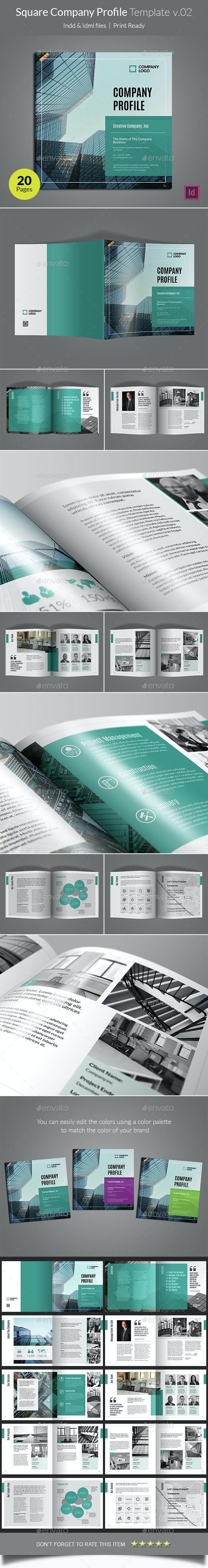 Company Profile Template V02 - Corporate Brochures