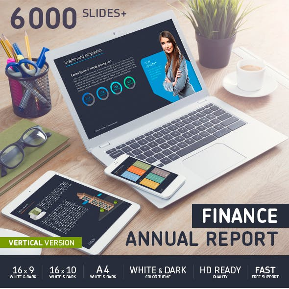 Finance Annual report Power Point