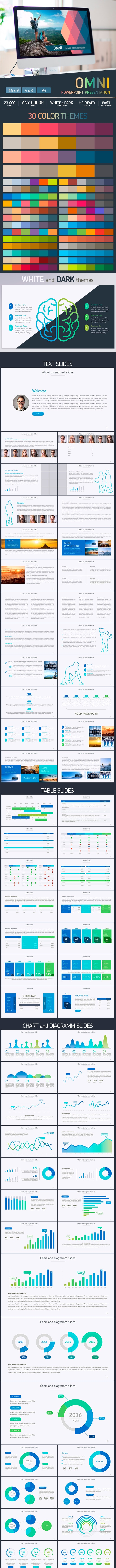 Omni - Powerpoint presentation - Business PowerPoint Templates