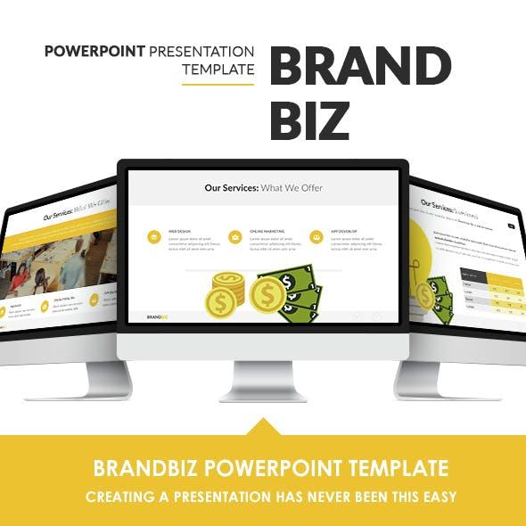 BrandBiz Powerpoint Template