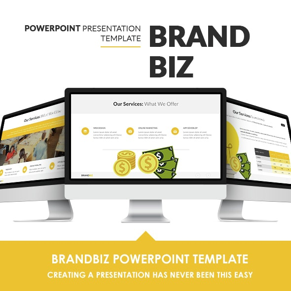 BrandBiz Powerpoint Template - PowerPoint Templates Presentation Templates