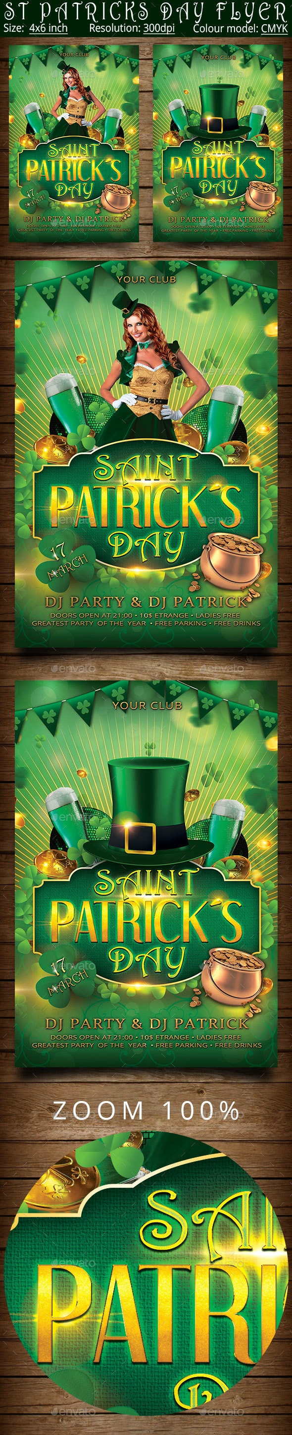 Patrick Day - Clubs & Parties Events