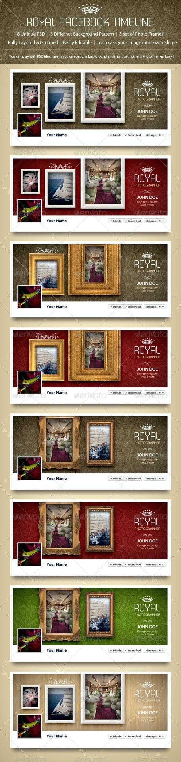 Royal Facebook Timeline