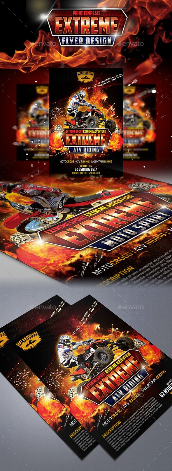 Exreme Sport Flyer - Sports Events