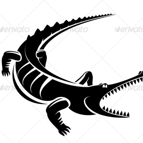 Crocodile as a mascot