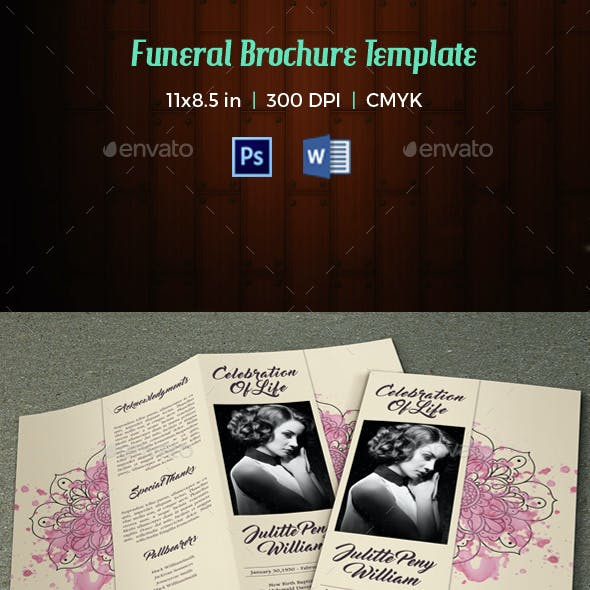 Funeral Program Template-V20