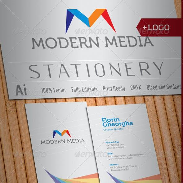 Modern Media Stationery