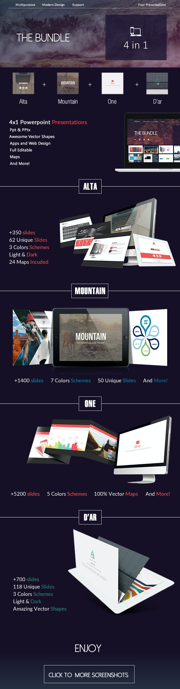 The Bundle - PowerPoint Templates Presentation Templates