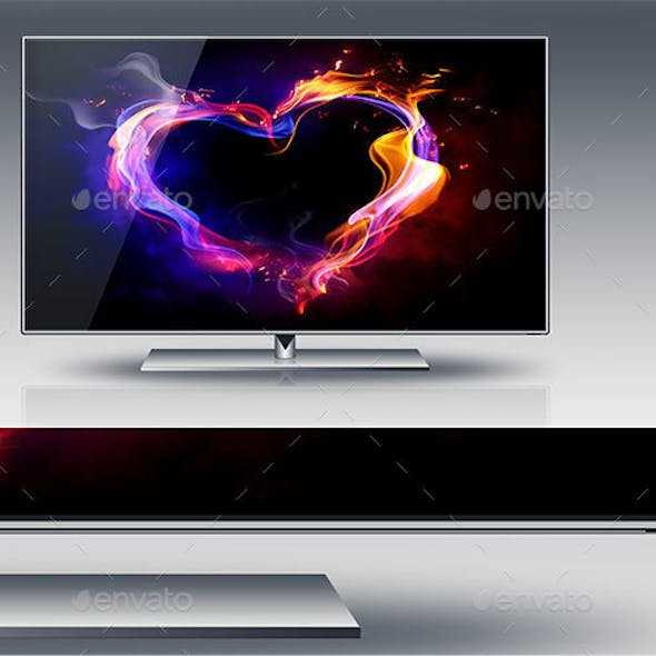 High Resolution LCD TV and Monitor